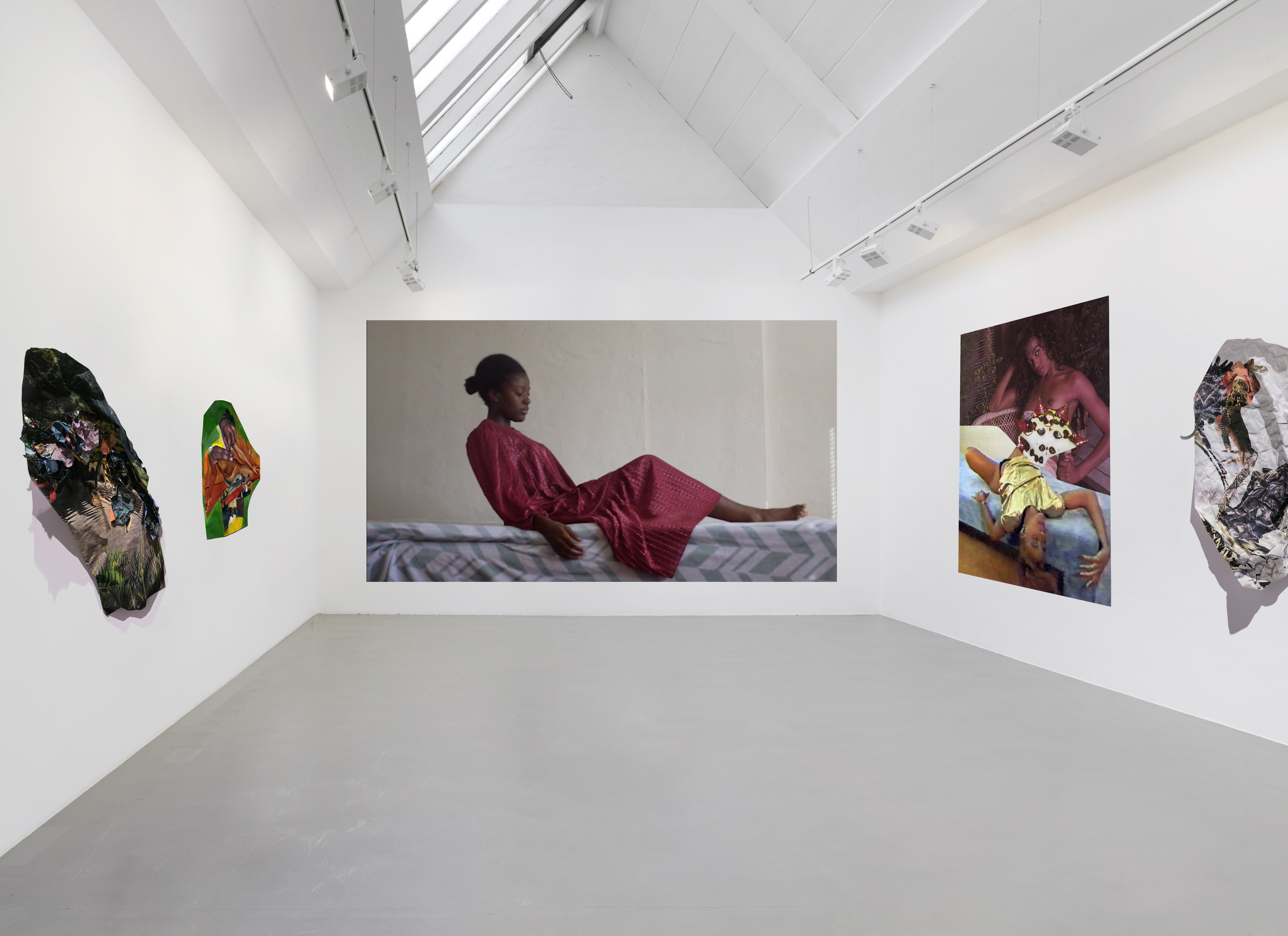 Galerie Barbara Thumm \ New Viewings #18 \ Come Undone: Suné Woods & Ranu Mukherjee
